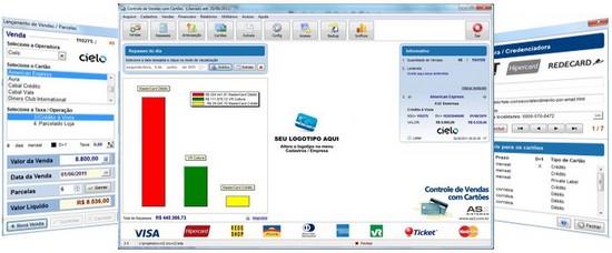 04f8ebf28 Controle de Vendas com Cartões de Débito e Crédito | AS2 Sistemas
