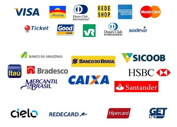 Bancos, Operadoras e Bandeiras